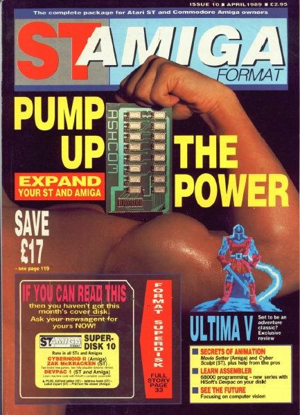 ST Amiga Format April 1989