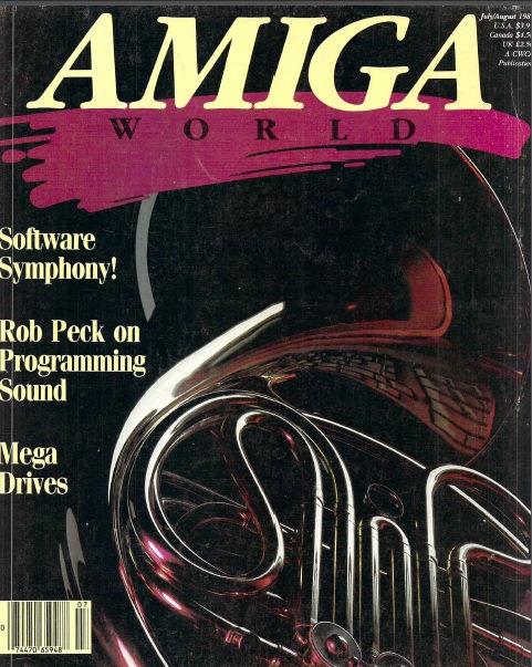 Amiga World July/Aug 1987