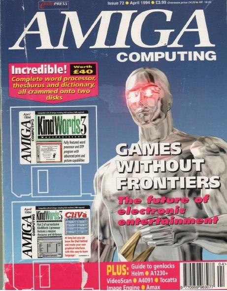 Amiga Computing April 1994