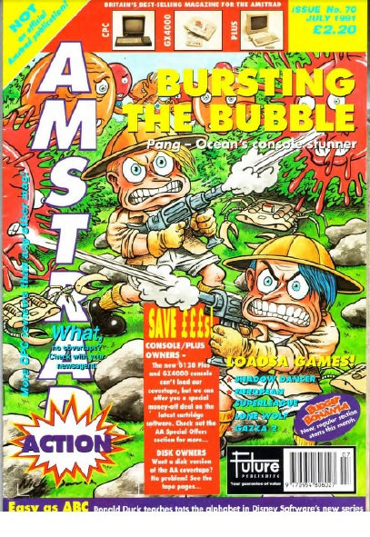 Amstrad Action July 1991