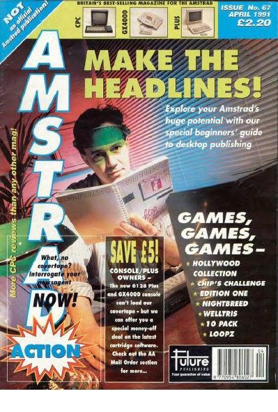 Amstrad Action April 1991