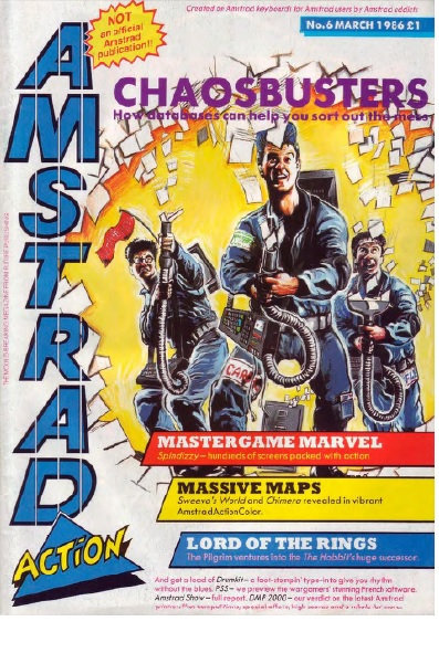 Amstrad Action March 1986