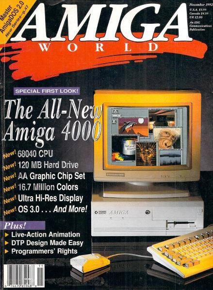 Amiga World Nov 1992