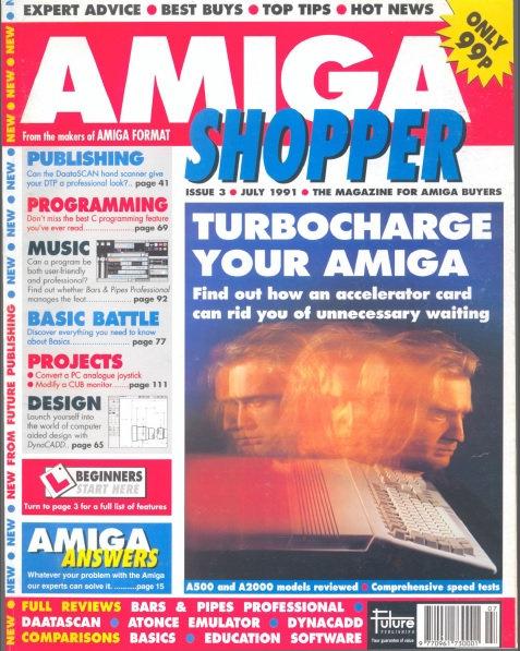 July 1991 Amiga Shopper