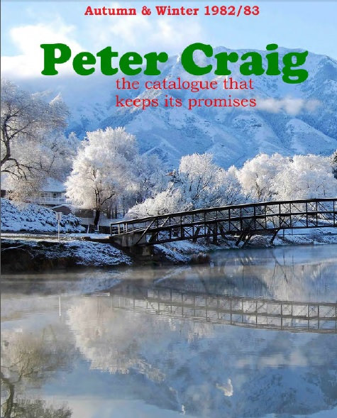 1982-1983 Peter Craig Autumn/Winter