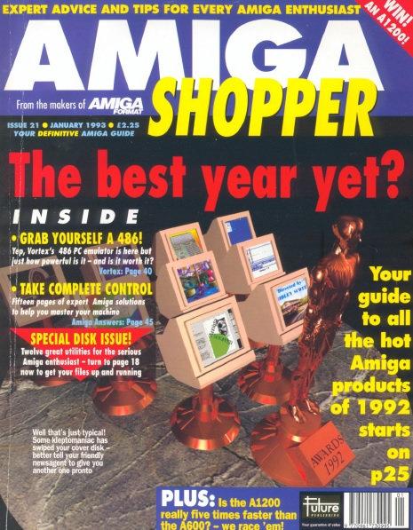 January 1993 Amiga Shopper