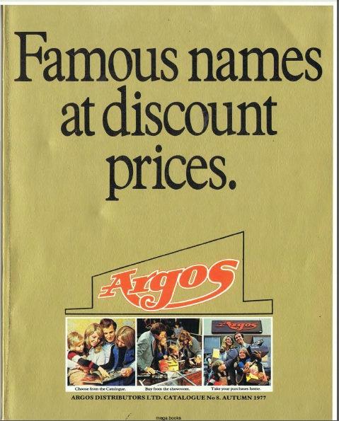 1977-1978 Argos Autumn/Winter