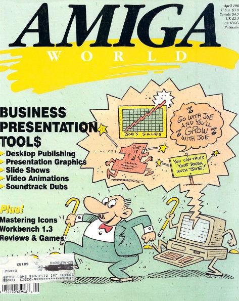 Amiga World April 1989