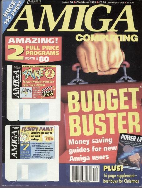 Amiga Computing Christmas 1993