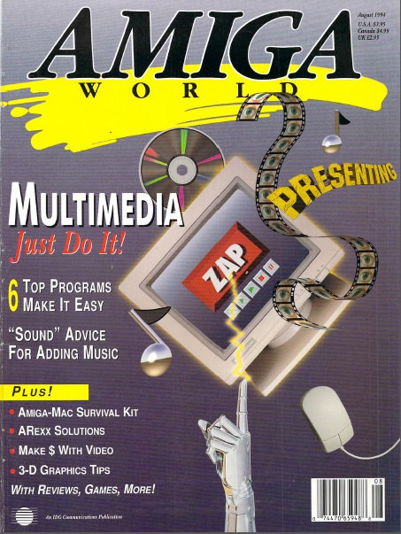 Amiga World Aug 1994