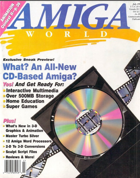 Amiga World July 1990