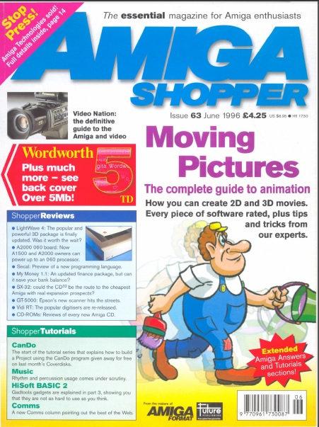 June 1996 Amiga Shopper