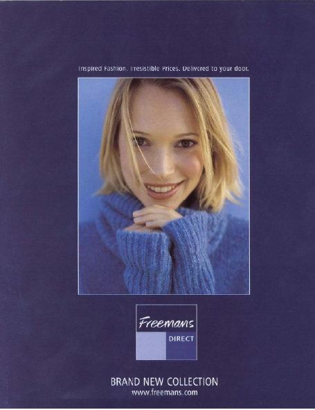 2000-2001 Freemans Autumn/Winter