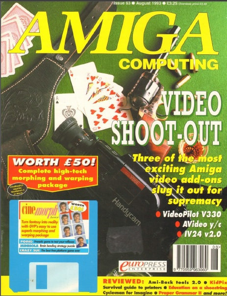 Amiga Computing Aug 1993