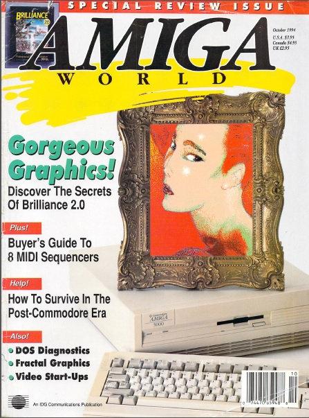 Amiga World Oct 1994