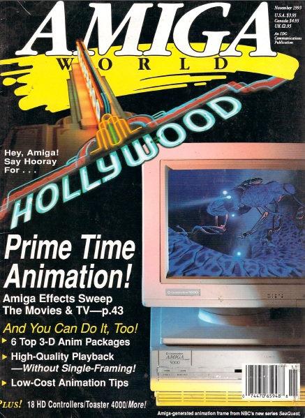 Amiga World Nov 1993