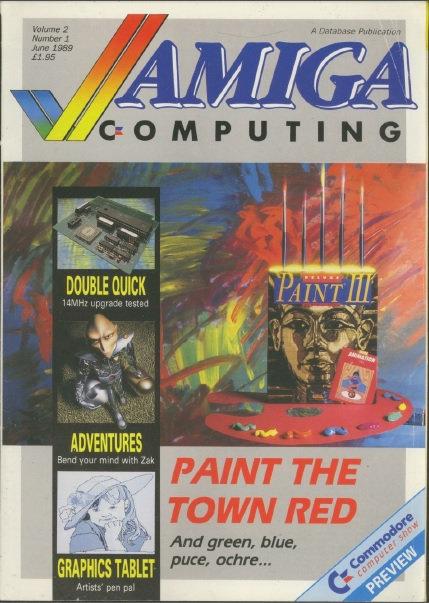 Amiga Computing June 1989