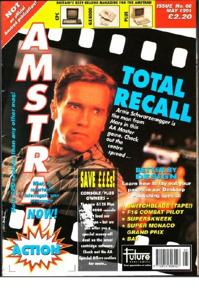 Amstrad Action May 1991