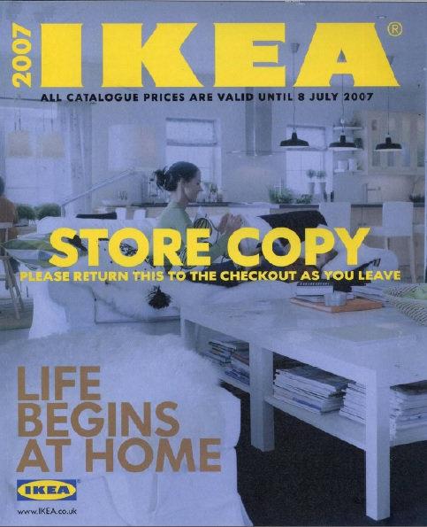 2007 IKEA Store Copy UK