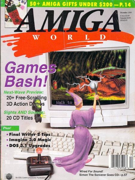 Amiga World Dec 1994