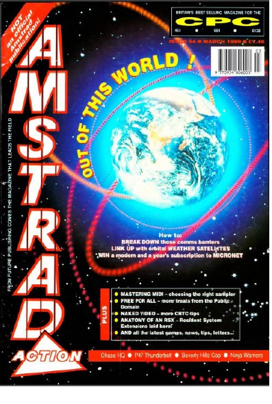 Amstrad Action March 1990