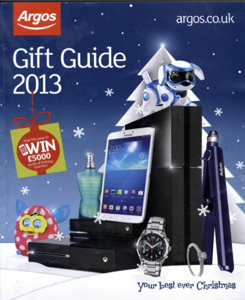 2013 Argos Christmas Gift Guide