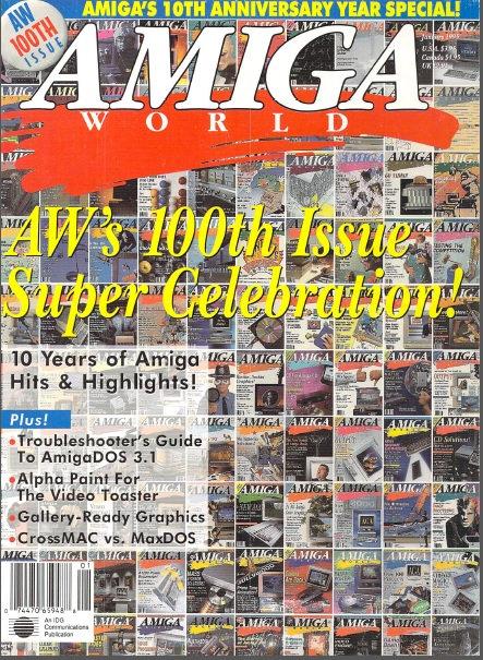 Amiga World Jan 1995