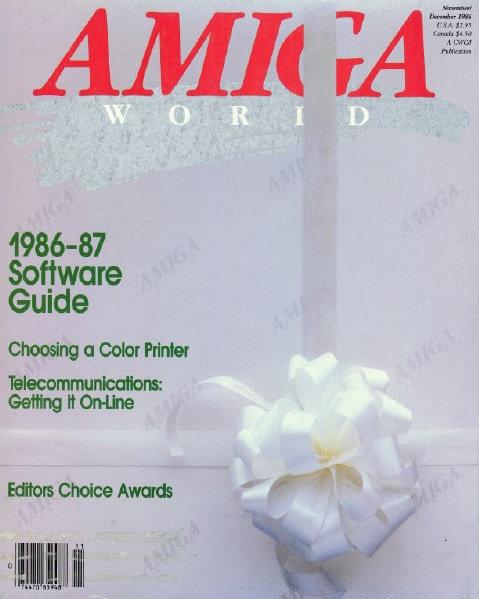 Amiga World Nov/Dec 1986