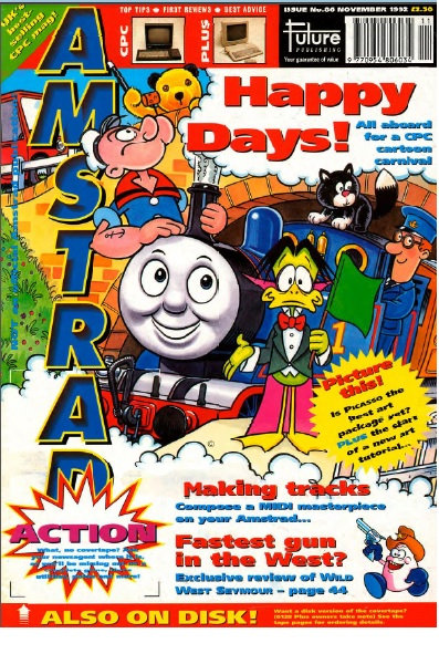 Amstrad Action Nov 1992