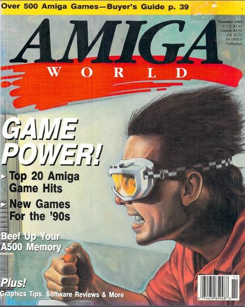 Amiga World Nov 1989