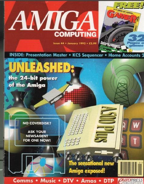 Amiga Computing Jan 1992