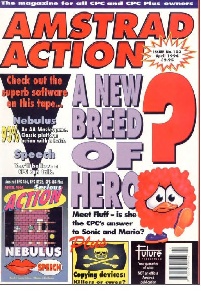 Amstrad Action April 1994