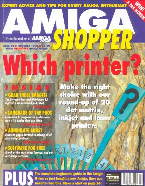 February 1993 Amiga Shopper