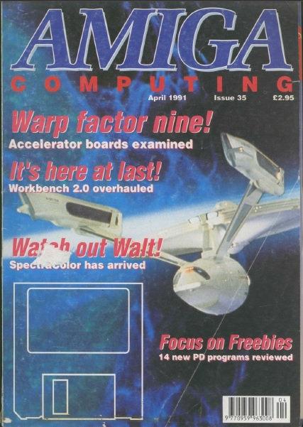 Amiga Computing April 1991