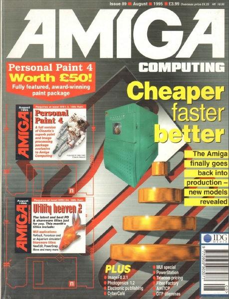 Amiga Computing Aug 1995
