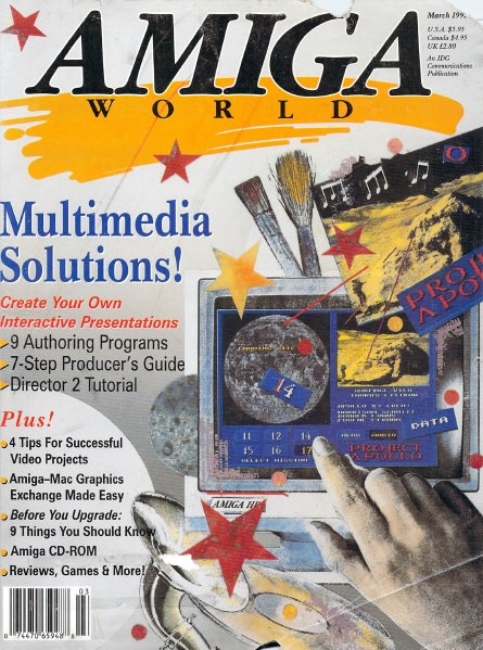 Amiga World March 1992