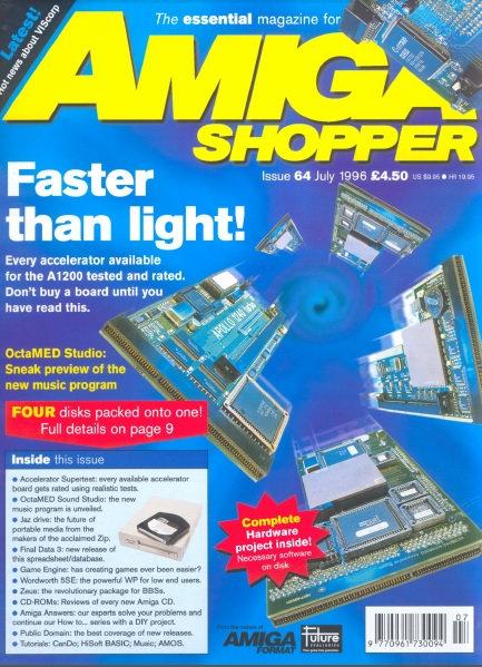 July 1996 Amiga Shopper