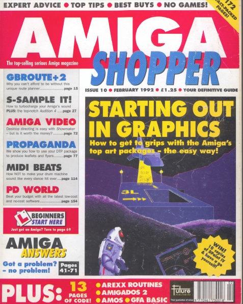 February 1992 Amiga Shopper