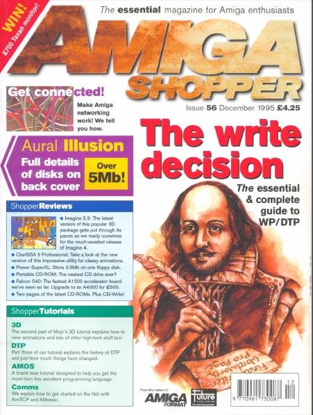 December 1995 Amiga Shopper