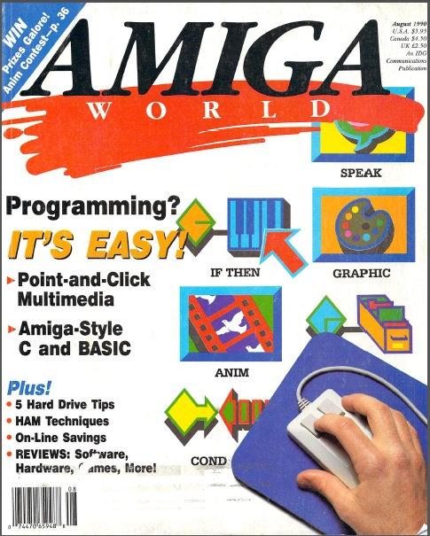 Amiga World Aug 1990
