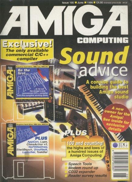 Amiga Computing June 1996