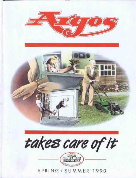 1990 Argos Spring/Summer