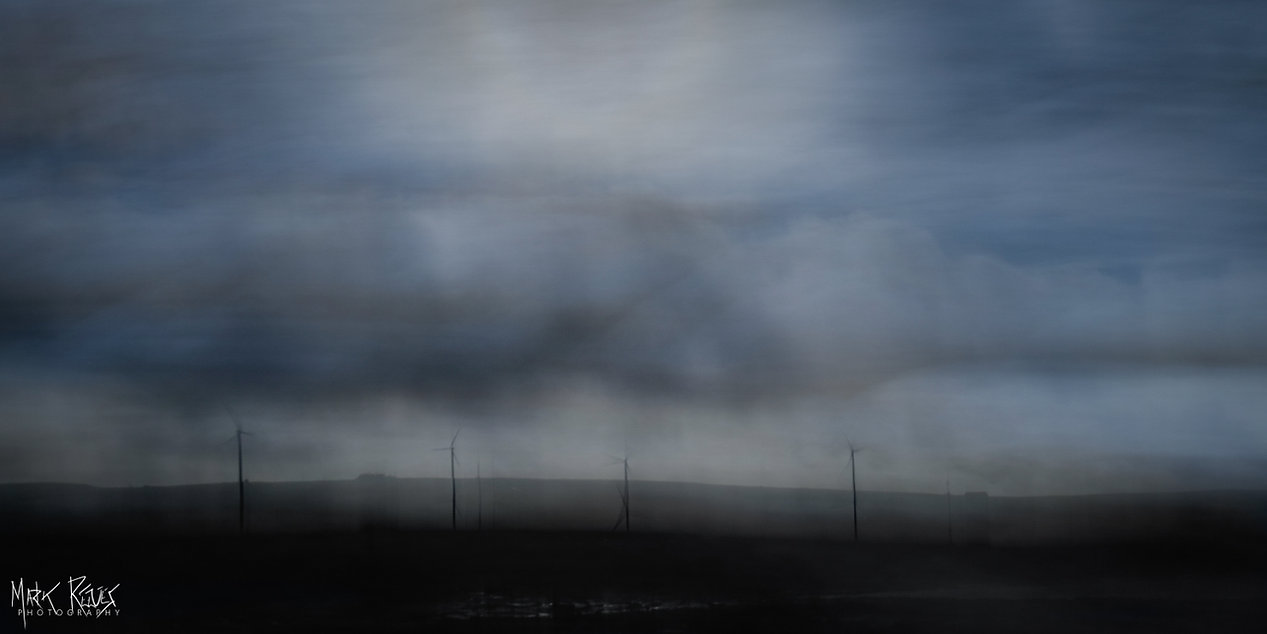Wind turbines on Orkney