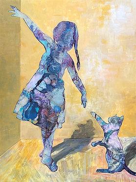 Dance with Me 2 Print