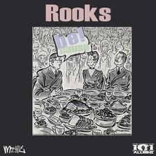 Album artwork for Rooks' Be Cause LP by Josh Davis