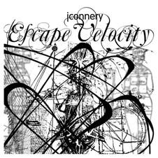 Album Art for Jah Connery's Escape Velocity LP by Alison Haling