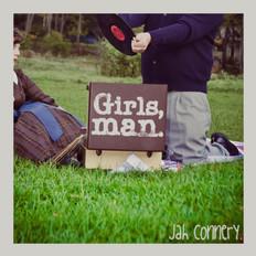 Album artwork for Jah Connery's Girls, Man. EP by Josh Davis & Beatrice Katcher