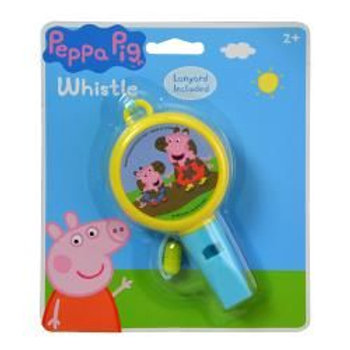 Peppa Pig Shaped Whistle on card