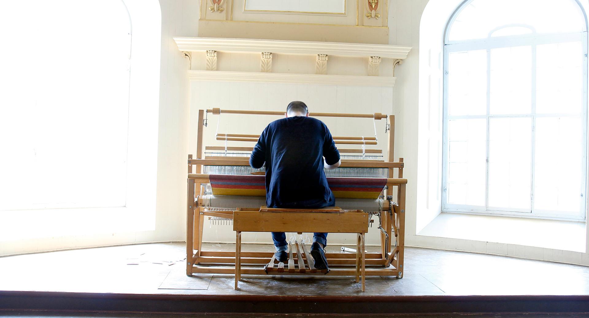 biennale internationale du lin de portneuf, église saint-joseph de deschambault-grodines, 2015