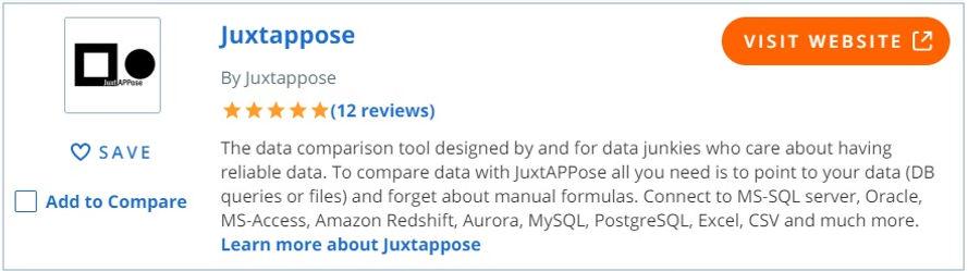 JuxtAPPose customer reviews on Capterra